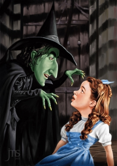 Dorothy and the Witch