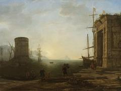 Harbour at Sunrise