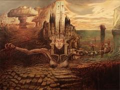 Incipit Tragedia (oil on canvas, 105x140 cm)