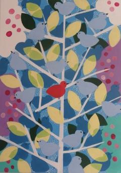 The thousand birds tree