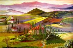 Colorful Bright Tuscany.