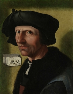 Portrait of Jacob Cornelisz van Oostsanen