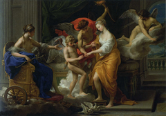 The Marriage of Cupid and Psyche. Oil on canvas, 85 x 119 cm.