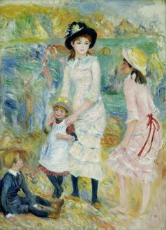 Children on the Seashore, Guernsey
