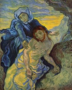 Pietà (after Delacroix)