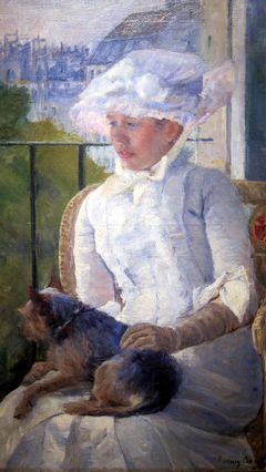 Young Girl at a Window