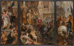 Oil Sketch for High Altarpiece, St Bavo, Ghent