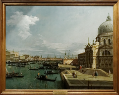 Entrance to the Grand Canal and the Church of La Salute