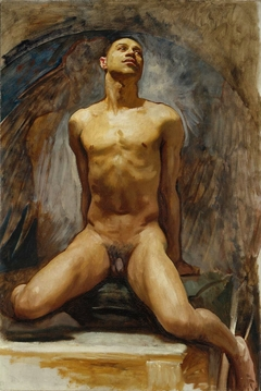 Nude Study of Thomas E. McKeller