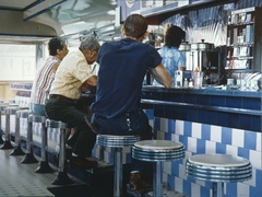 Tiled Lunch Counter