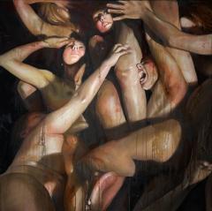 Le disperate strida serie Inferno-Dante. Canto I.