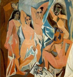 Les Demoiselles d'Avignon (The Young Ladies of Avignon)