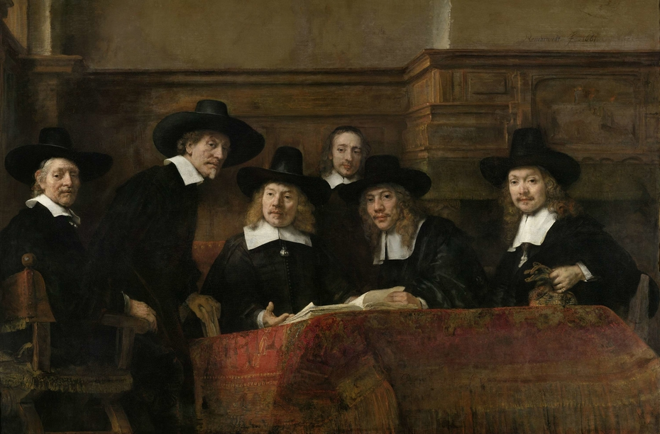 The Sampling Officials of the Amsterdam Drapers' Guild, known as 'The Syndics'