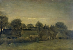 Rural Village at Night
