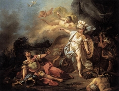 The Fight Between Mars and Minerva