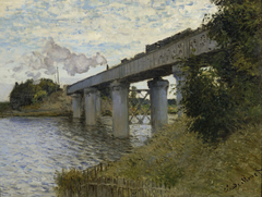 The Railway Bridge at Argenteuil
